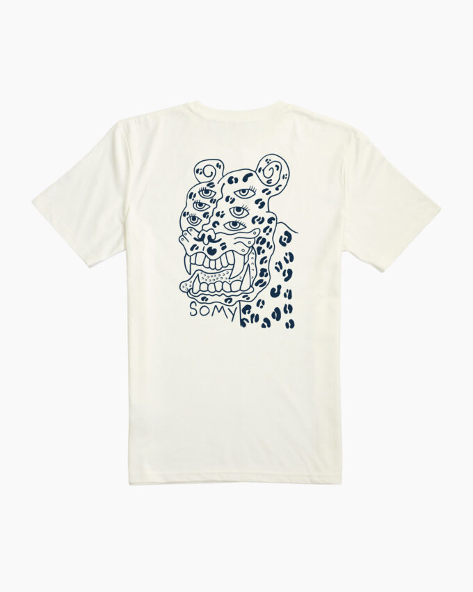 Ross Carvill, SOMY x Ross Carvill Leopard T-Shirt, SOMY x Ross Carvill Leopard TShirt, SOMY x Ross Carvill Leopard tee, Ireland, SOMY t-shirt, SOMY x Ross Carvill t-shirt, SOMY x Ross Carvill tshirt, SOMY x Ross Carvill tee, SOMY Ross Carvill, Ross Carvill, SOMY Artist Series t-shirt, SOMY Artist Series tshirt, SOMY artist series tee, SOMY artist series, SOMY x Ross Carvill, SOMY clothing, SOMY clothing brand Ireland, SOMY Ireland, SOMY is a design driven lifestyle brand, SOMY lifestyle, SOMY skateboarding Ireland, SOMY Skatewear Ireland, SOMY Streetwear Ireland, SOMY style, SOMY Surfwear Ireland